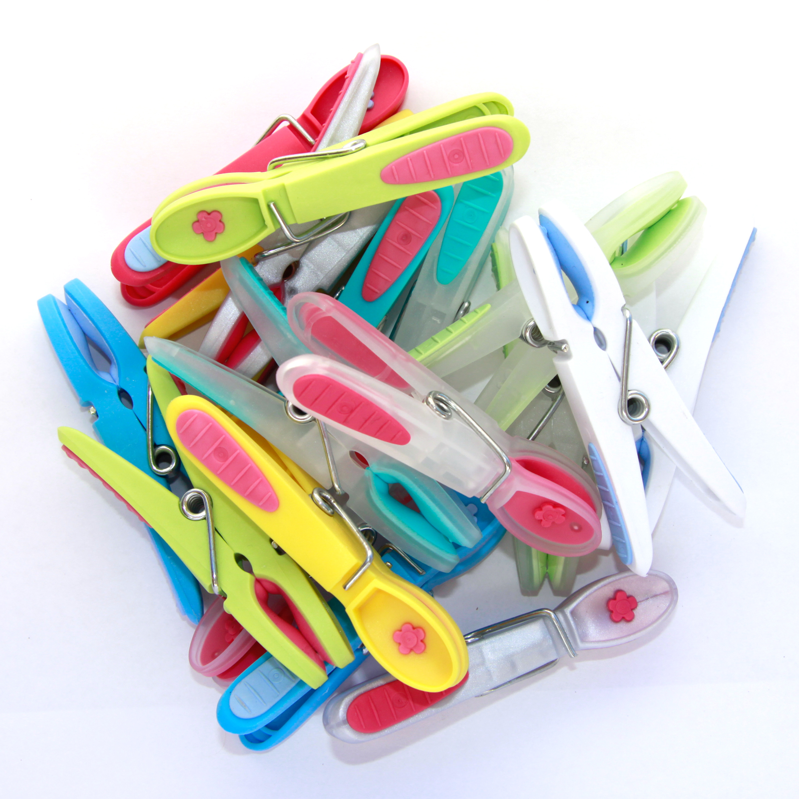 Clothing Laundry Pegs Gelato Mixed Colours