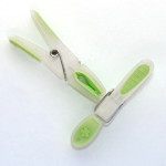 Clothing Laundry Pegs Translucent Green