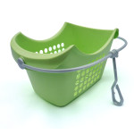 Clothing Peg Basket Green