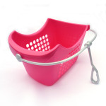Clothing Peg Basket Pink