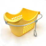 Clothing Peg Basket Yellow